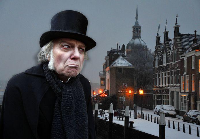 Dordrecht haalt opnieuw een tv-spektakel naar de stad: Scrooge Live.