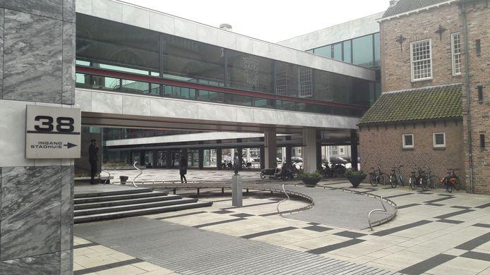 Het stadhuis in Arnhem.