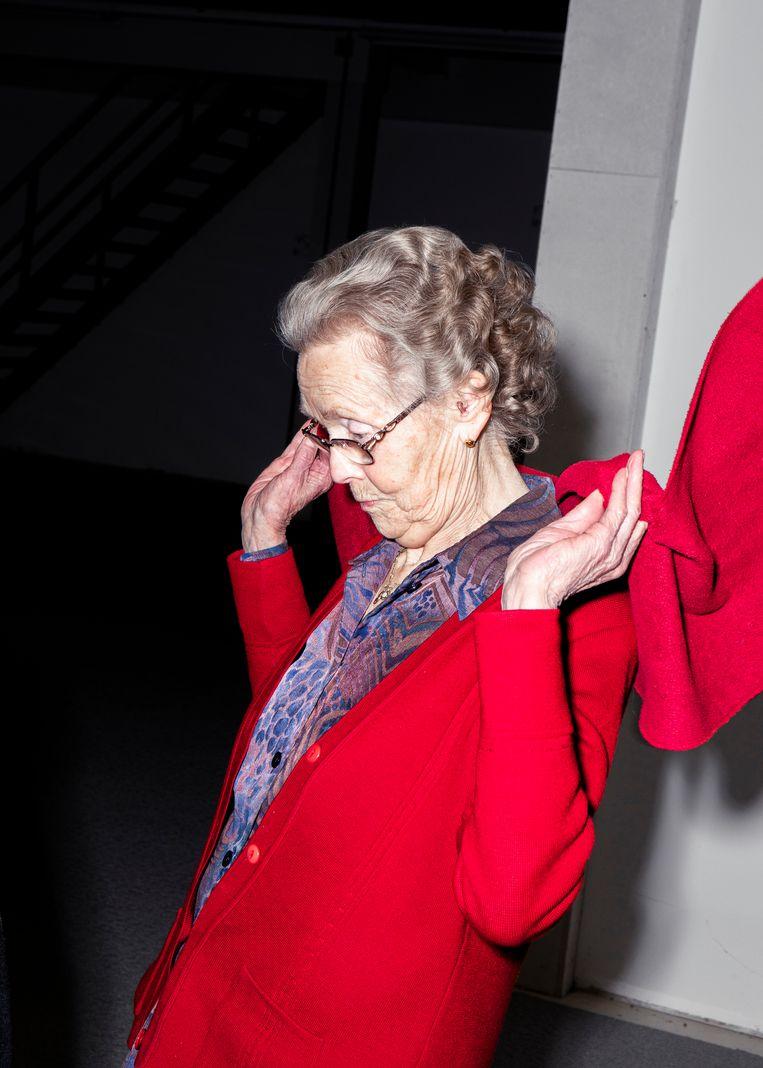 Corrie van Noy, 91 jaar. Beeld Hilde Harshagen