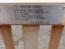 Nieuwe wandeling langs gedichten in centrum Helmond