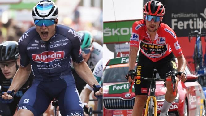 Een ongenaakbare Roglic, sterk rijdende Mas of een tegenvallende Bernal: dit waren de beste en meest teleurstellende Gouden Vuelta-renners in de eerste week