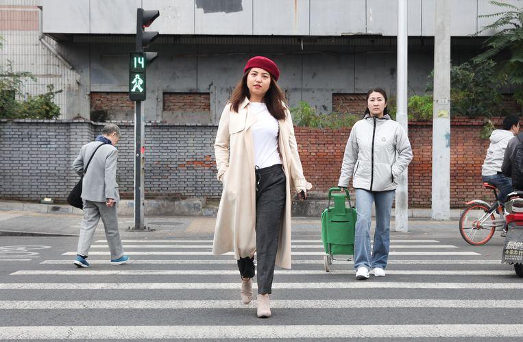 Ru Yan (30): 'Sinds ik loop voel ik me blijer 's ochtends.' Beeld Elke Scholiers