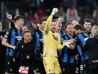 Club Brugge heeft 58% kans om Europees te overwinteren