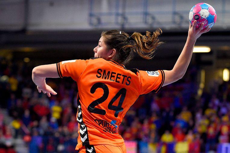 Linkerhoekspeelster Martine Smeets: 'Mijn Noorse teamgenoten gunnen het mij'. Beeld AFP