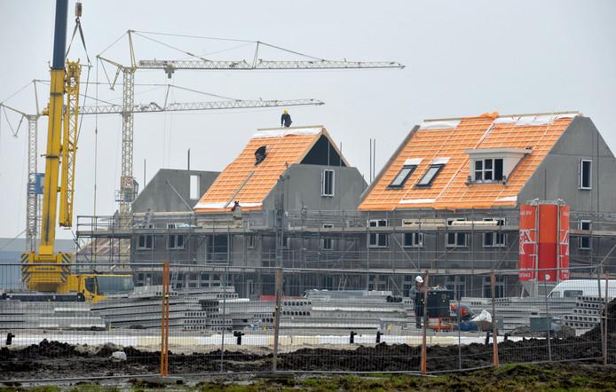 Woningbouw in Borne, in de wijk Bornsche Maten