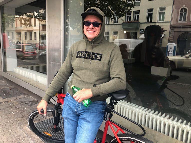 Marcus Leiter is ontevreden met de regering-Merkel. 'Ons land kan niet op tegen China of de Verenigde Staten.' Beeld Kim Deen