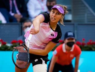 "Elise Mertens gaat eruit in openingsronde in Rome: ""Geen toernooi meer tot aan Roland Garros"""