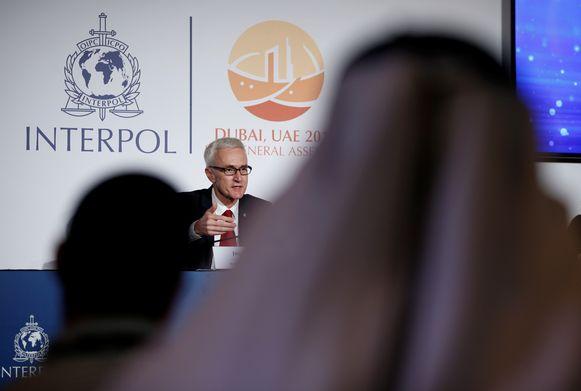 Jürgen Stock, topman van Interpol.