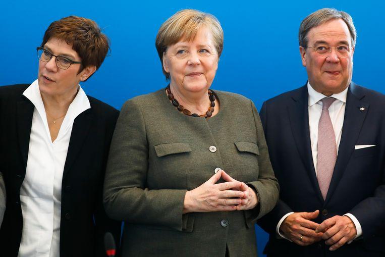 Strijd om de macht binnen Merkel's CDU: dit zijn de 3 kandidaten