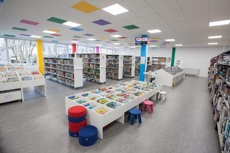 De bibliotheek van Maasmechelen.
