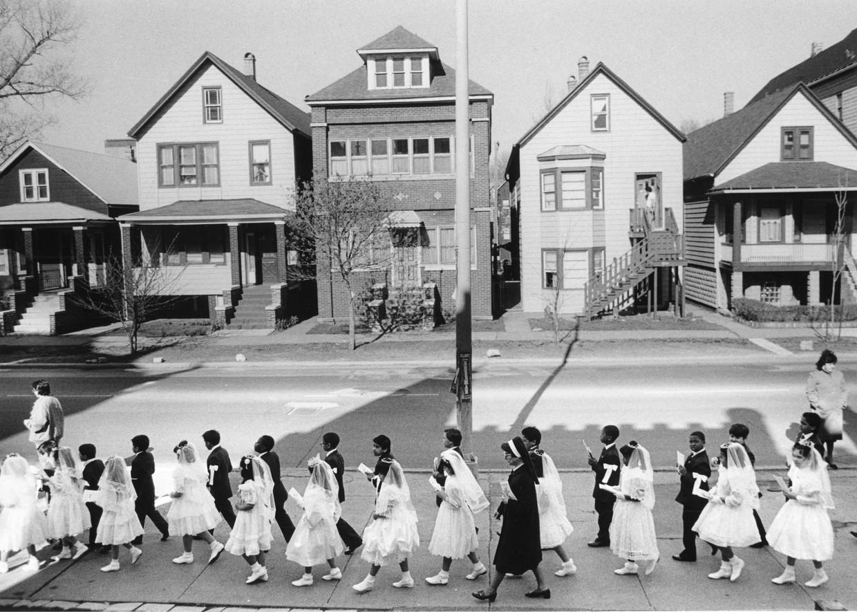 Kruispunt van Jonathan Franzen introduceert de familie Hildebrandt, die in een slaapstadje woont in het Illinois van 1971. Alle gezinsleden kampen met grote dilemma's. Beeld Getty Images