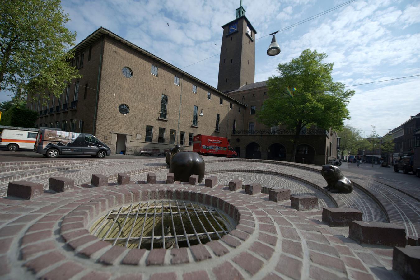 Het stadhuis in Enschede