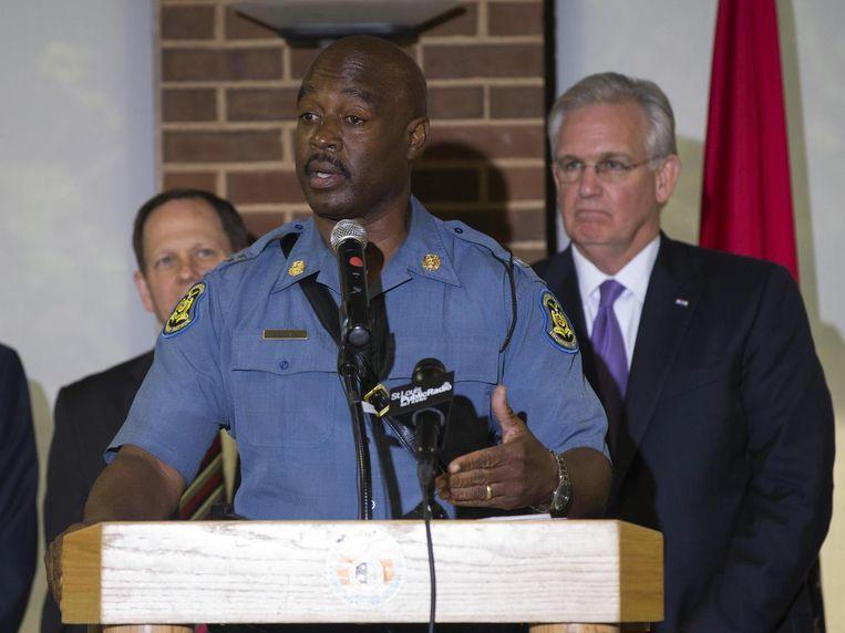 Ron Johnson van de State Highway Patrol Beeld reuters