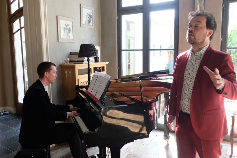 Bart Verstraeten en Tristan Faes traden op tijdens 'Mechelen Exclusief'