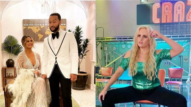 CELEBS 24/7. Date night voor John Legend en Chrissy Teigen en Rebel Wilson haalt haar innerlijke Britney Spears naar boven