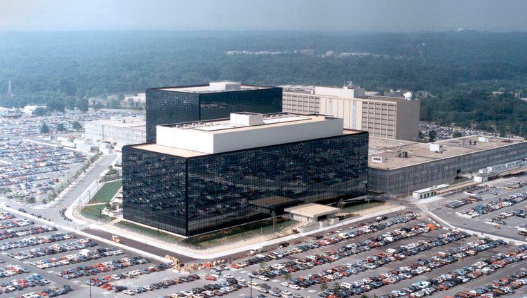 Het hoofdkantoor van de NSA. Beeld Reuters