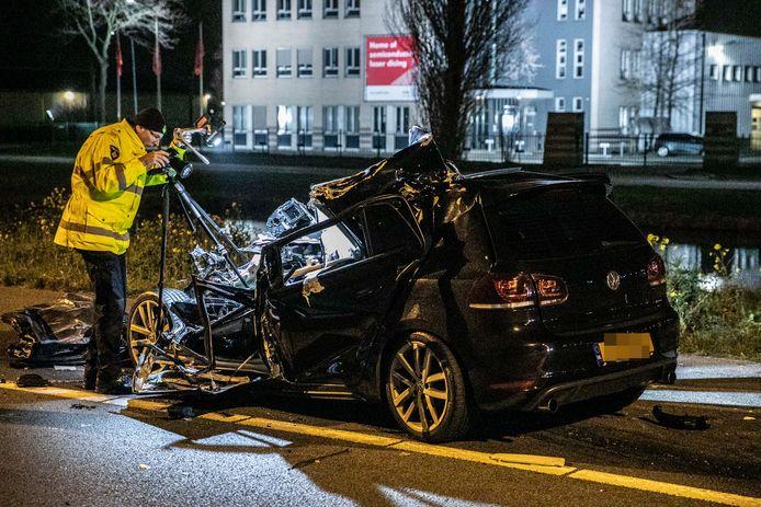 Bestuurder Zwaargewond Naar Ziekenhuis Na Ernstig Ongeval Op A73 Bij Beuningen Beuningen Gelderlander Nl