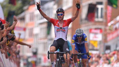 Tim Wellens primus op de Citadel van Namen, hij is meteen ook leider in Ronde van Wallonië