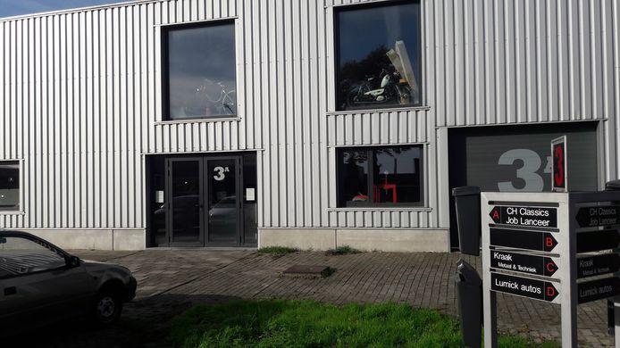Het bedrijfspand waar Relaunch, voorheen Job Lanceer, is gevestigd.