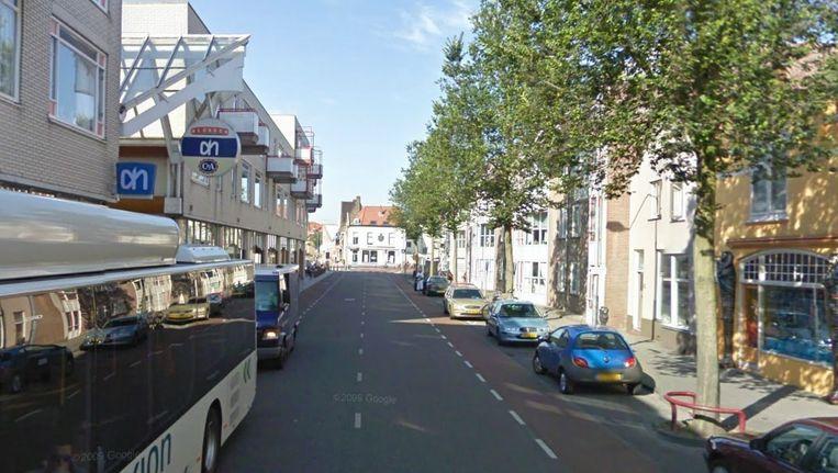 Gedeelte van de Aagje Dekenstraat Beeld Google Streetview
