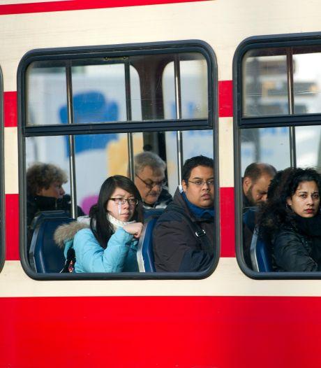 Trams en bussen HTM niet meer langs Haagse Markt