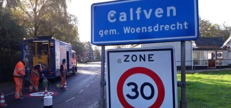 'Lagere snelheid verkeer in Calfven? Grote onzin!'