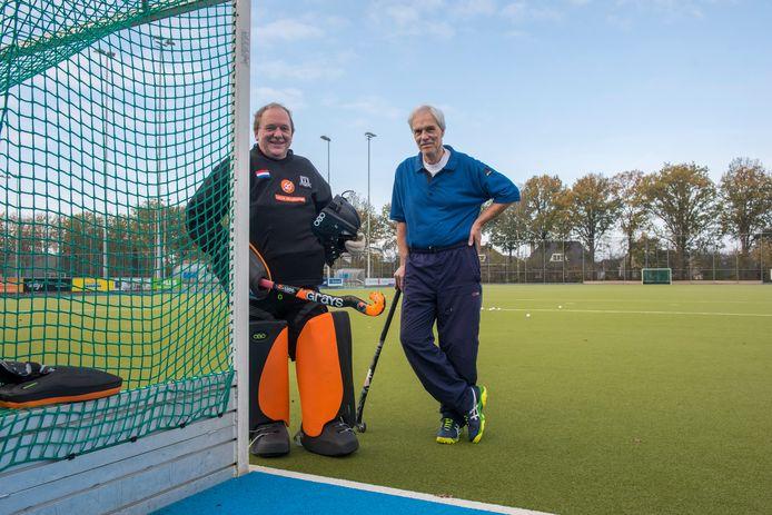 Harry Slagter en Lukas Zeijlemake (l)