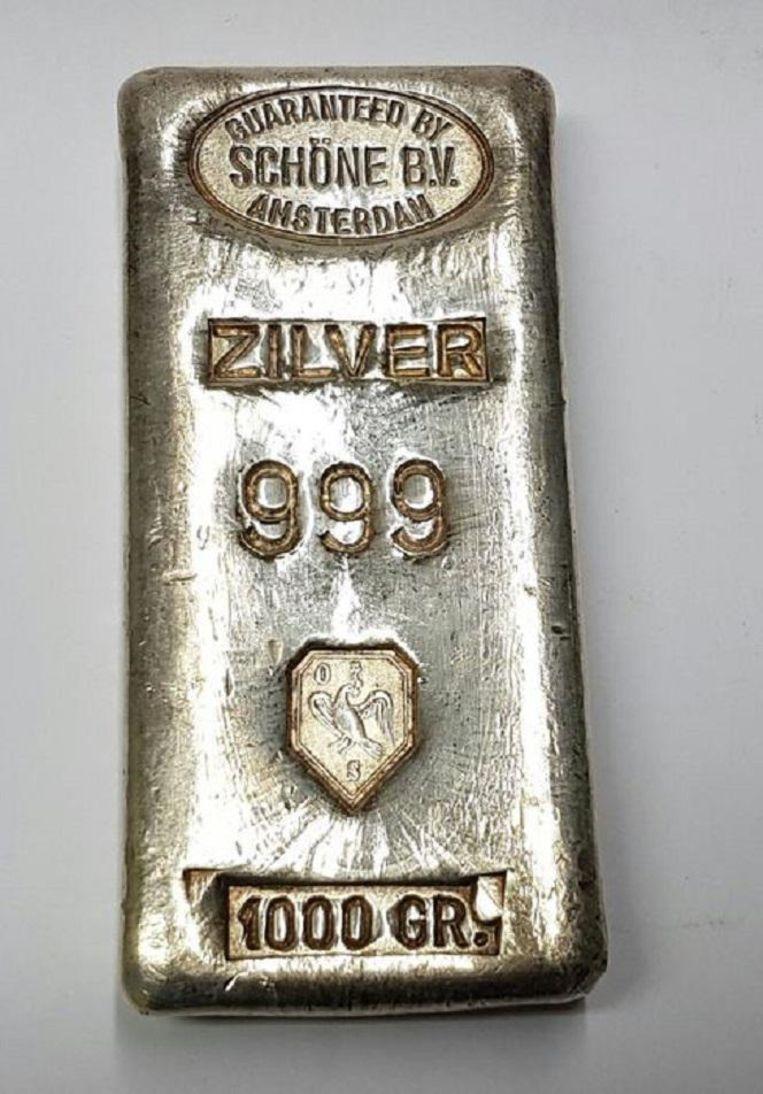 Schöne bedrijf recyclet ook zilver. Beeld Catawiki