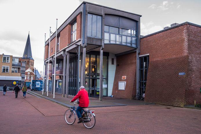 Het gemeentehuis in Borne.