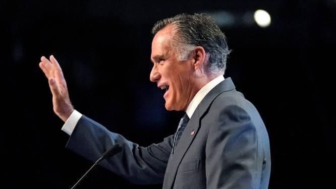 """""""Verrader!"""": Republikeinse senator die twee keer voor afzetting Trump stemde, uitgejouwd op partijcongres"""