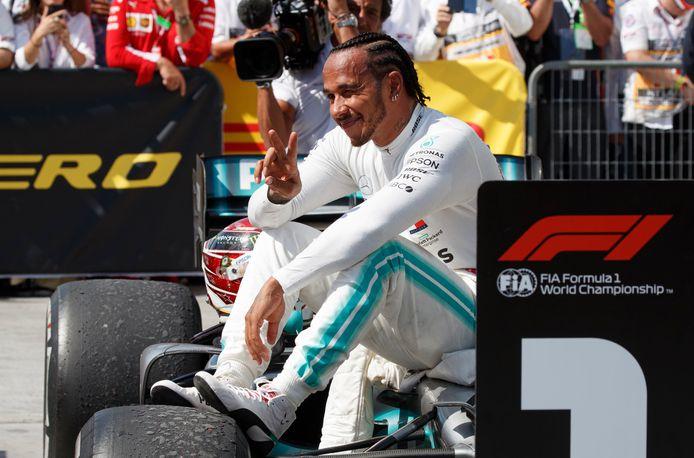 Lewis Hamilton aast op zijn achtste wereldtitel.
