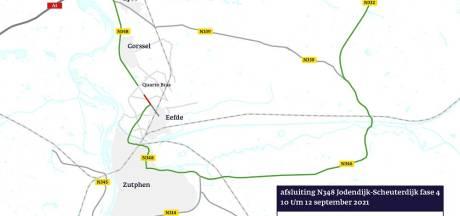 Zutphen dit weekend vanuit noorden én zuiden slecht bereikbaar, werkzaamheden geven hinder
