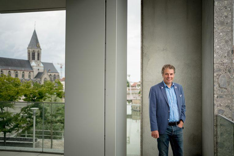 Jan Vermeulen (CD&V), burgemeester van Deinze. Beeld Wouter Van Vooren