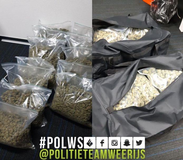 Drugs in beslag genomen in Achtmaal