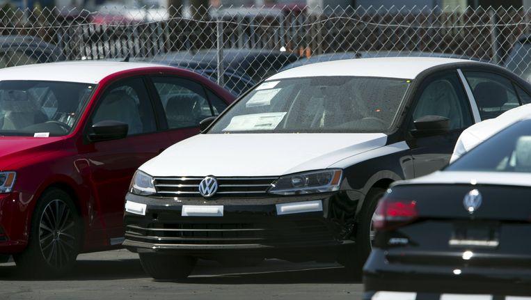 Nieuwe Volkswagen in San Diego, Californië. Beeld reuters