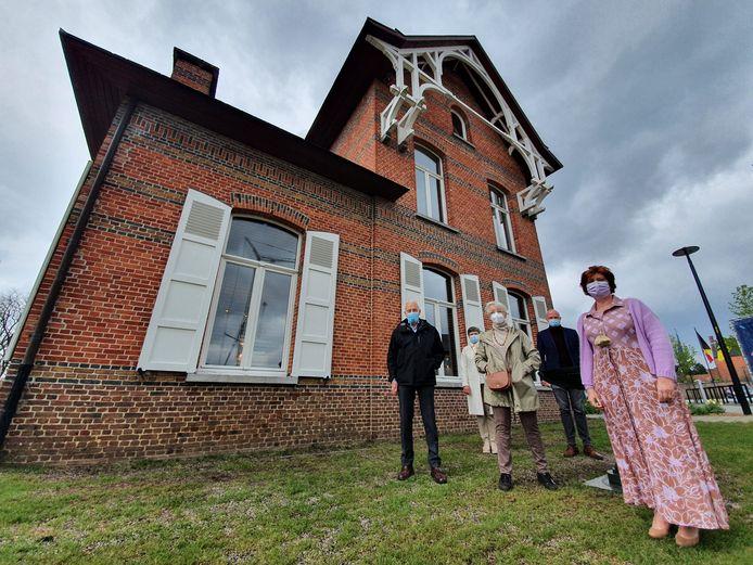 Huize Goetschalckx in Lille is volledig in ere hersteld.