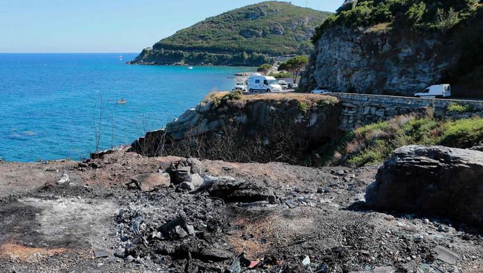 De omgeving van Sisco, Corsica
