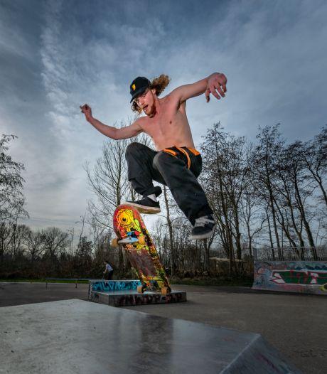 Van schaatsen naar skaten in stadspark van Kampen: 'Ik zweet me kapot...'