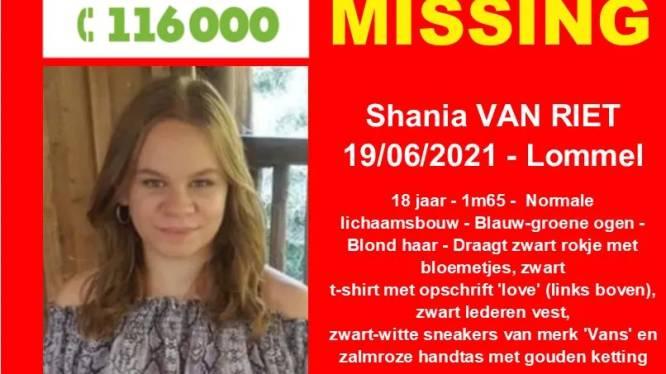 "Lommelse Shania al tien dagen vermist: ""Haar klein broertje mist haar enorm"""