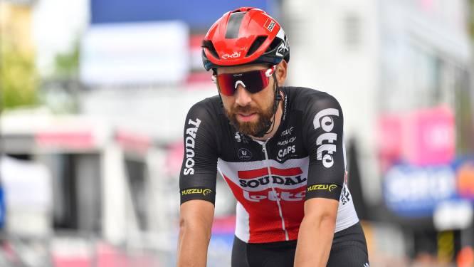 Thomas De Gendt verlaat Giro met kniepijn, Lotto Soudal blijft met amper twee renners over