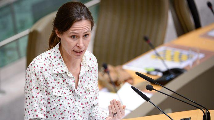 Vlaams minister van Wonen, Freya Van den Bossche.