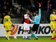 Lacazette krijgt schorsing na forse elleboogstoot en mist duels met Stade Rennes