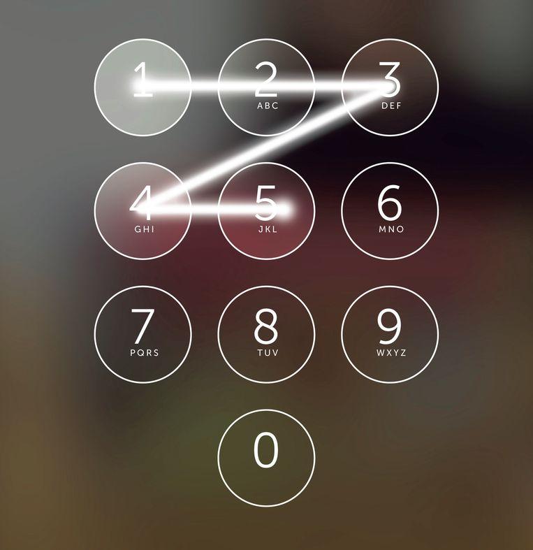 Is je paswoord 12345, kijk dan uit voor hackers Beeld dm