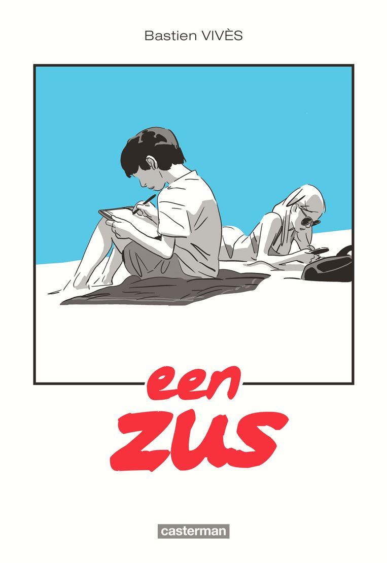 Cover 'Een zus'. Beeld RV