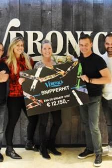 Radiospelletje Veronica levert Eva de Graaff uit Eesveen 12.150 euro op