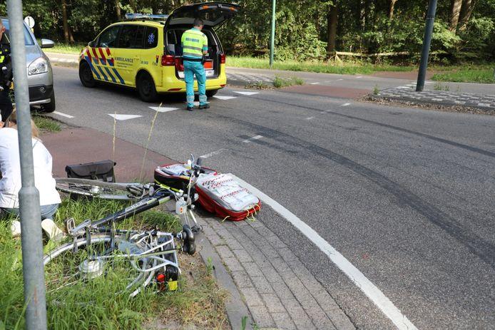 Fietser aangereden in Udenhout