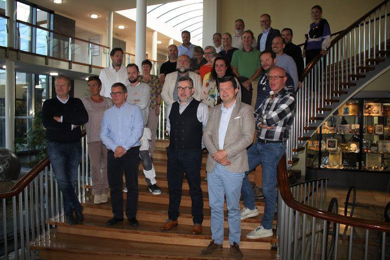 De 27 kandidaten voor de raad van bestuur van de pas opgerichte raad lokale economie.