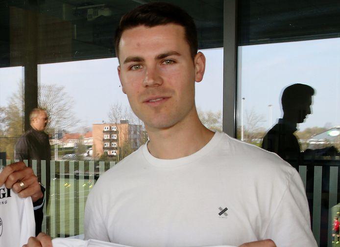 Verdediger Lennert De Smul is één van de nieuwkomers  bij FC Mandel United.