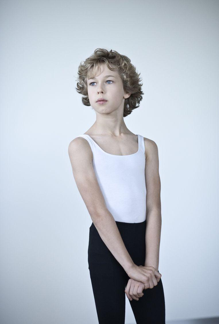 Tydo (11) uit Velserbroek. Beeld Linelle Deunk