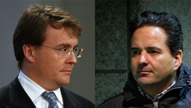 Prins Friso en Florian Moosbrugger
